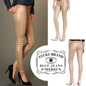 Metallic Charlie Skinny Jeans-Holiday Party Jeans!
